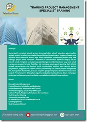 training memahami konsep project management murah